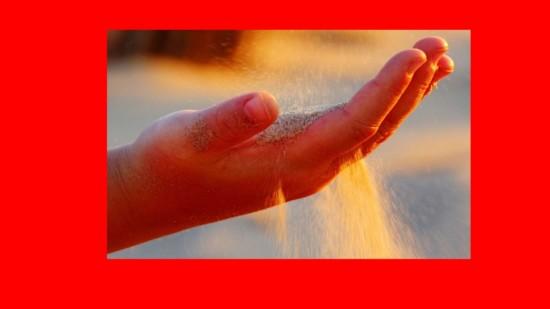 Hand und Sand